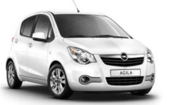 Opel Agila (or similar)